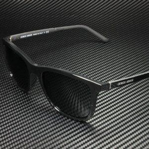 Giorgio Armani Men's Black and Grey Sunglasses!